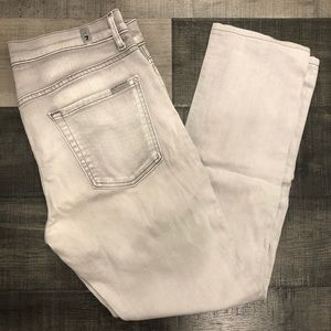 7 For All Mankind Paxtyn Gray Jeans 33x28